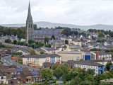 A View of the Bogside in Derry