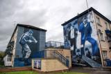 Motorman and The Runner Murals