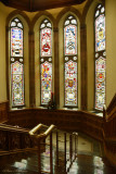 Stained Glass Windows in Guildhall