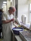 Working on a Vase, Belleek