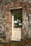 Doorway in the Victorian Gardens