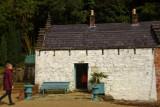 Restored Cottage of a Garden Worker in the Victorian Gardens