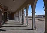 Harvey House Railroad Depot in Barstow