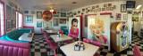 Mr. D'z Route 66 Diner Interior