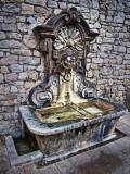 Fountain at Mougins