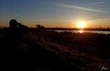 Coucher de soleil au Ruisseau de Feu - Sunset on the pond