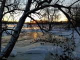 Coucher de soleil  - Some ducks at sunset
