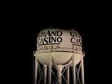 Grand Casino WT in the dark of night.