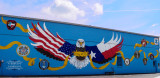 Armed Forces Mural, Lampasas, TX