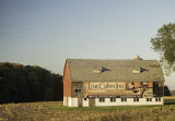 Barn advertising in Doors County, WI.