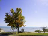 A touch of Fall on Lake Michigan