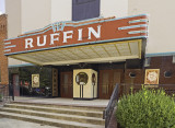 The theater marquee and entrance