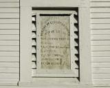 Murphy Street Christian Church plaque