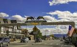 Afton, Wyoming elkhorn arch