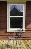 Window and chair