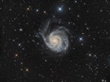 M101 - The 'Pinwheel Galaxy' in Ursa Major