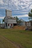Inavale, Nebraska old Wood Grain Elevator.