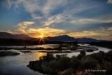 Sunrise Over Fall Creek