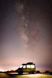 The Night Sky Above SLO, CA