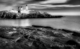 Nubble Lighthouse in Winter