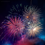 Theresienfest Hildburghausen 2017 - Feuerwerk 1