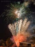 Theresienfest Hildburghausen 2016 - Feuerwerk 2