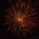 Theresienfest Hildburghausen 2016 - Feuerwerk 3