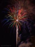 Theresienfest Hildburghausen 2016 - Feuerwerk 4