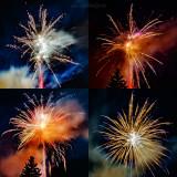 Theresienfest Hildburghausen 2017 - Feuerwerk 3