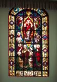 Window in All Souls Chapel
