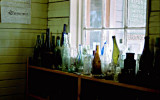 Bottle Collection in the museum