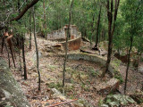 Unidentified ruins near the Paraffin Sheds