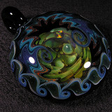 #241: Darin Mitchell, Inner Blessing Size: 1.89 x 2.45 Price: $220