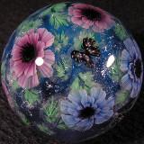 #145: Double Poppy Anemone & Butterflies Size: 1.37 Price: $360