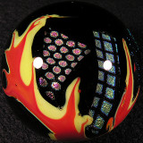 Bruce Troeh, Flaming Dichro Size: 1.74 Price: SOLD