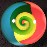 #62: Beachball Twist  Size: 1.55 Price: $110