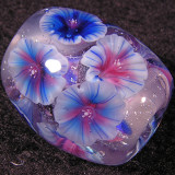 Blue Morning Glory Size: 0.77 x 0.66 Price: SOLD