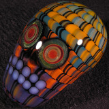 Mike Gong & Christopher McElroy: Skull Stroke Size: 2.22 x 1.37 Price: SOLD