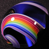 Rainbow Blues Egg Size: 1.94 Price: SOLD