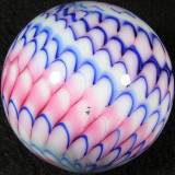 #302: Charles Gibson: Pink Patriot Snake Size: 1.54 Price: $45