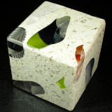 Tectonic Cube 5 Size: 2.25 Price: SOLD