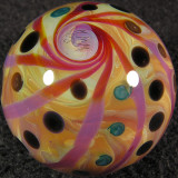 Dotted Gooball Size: 1.16 Price: SOLD