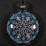 Mark Eastman (Introvert Glass), Guiding Snowflake Size: 2.11 Price: SOLD