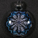 #358: Mark Eastman (Introvert Glass), Traveling Snowflake Size: 2.17 Price: $200