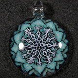 #359: Mark Eastman (Introvert Glass), Germinating Snowflake Size: 2.17 Price: $200