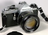 Pentax ME with Ricoh 1.4