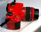 Red Pentax K-x Digital SLR