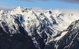 Peaks along Hurricane Ridge in Olympic National Park