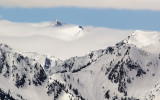 Mountain peaks are islands in the clouds along Hurricane Ridge in Olympic National Park
