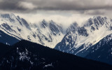 Mount Cameron (7,190 ft) along Hurricane Ridge in Olympic National Park